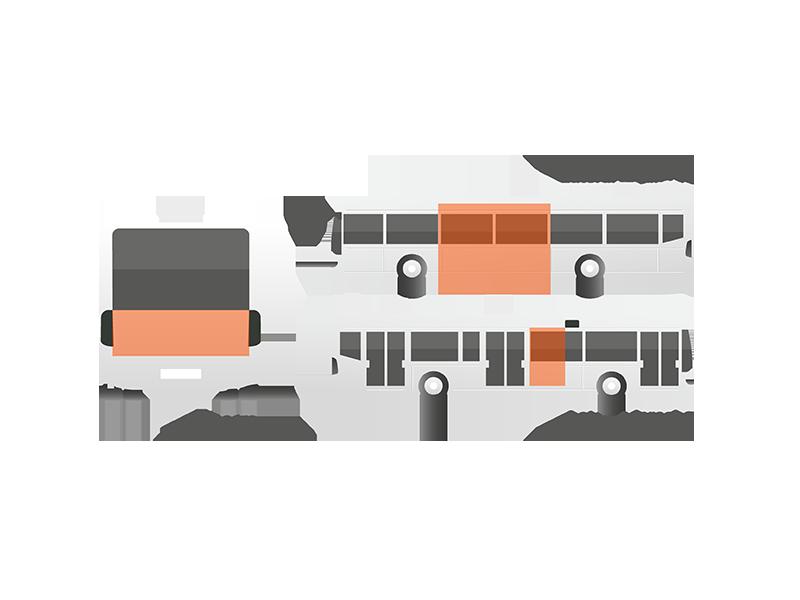Publicidad estandar autobuses