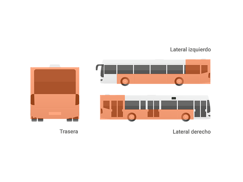 Publicidad integral autobuses