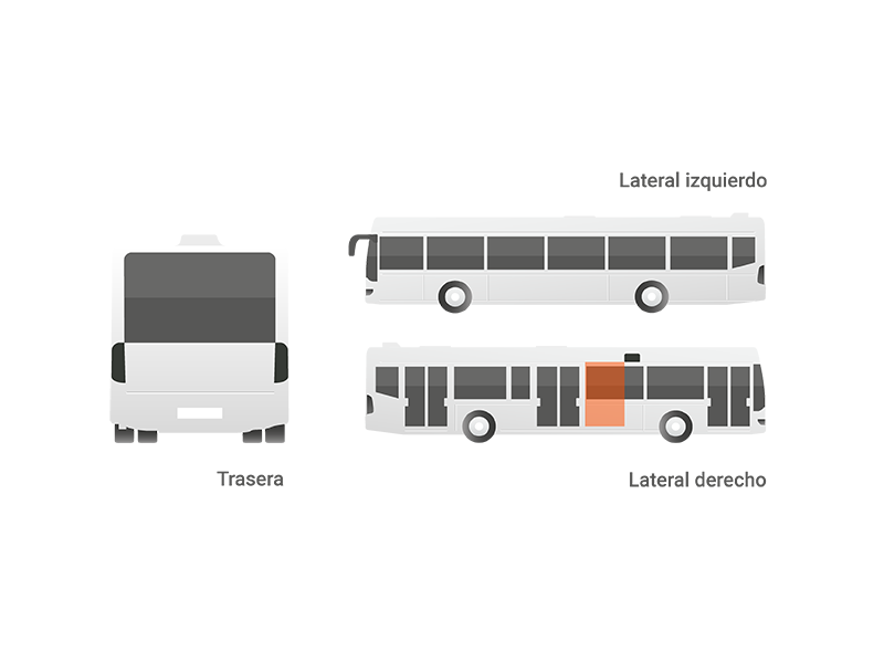 Publicidad mupi autobuses