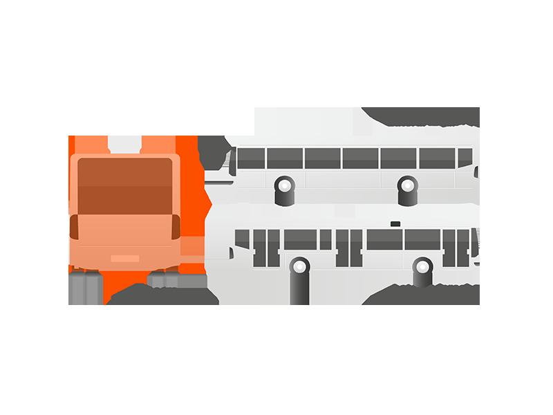 Publicidad trasera autobuses