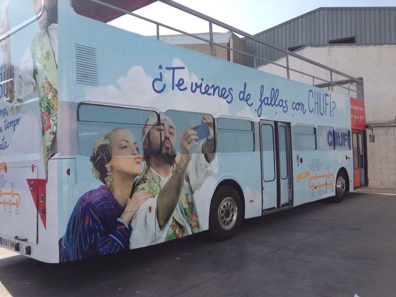 ¡Súbete al Bus Turístic València con Publicesa!