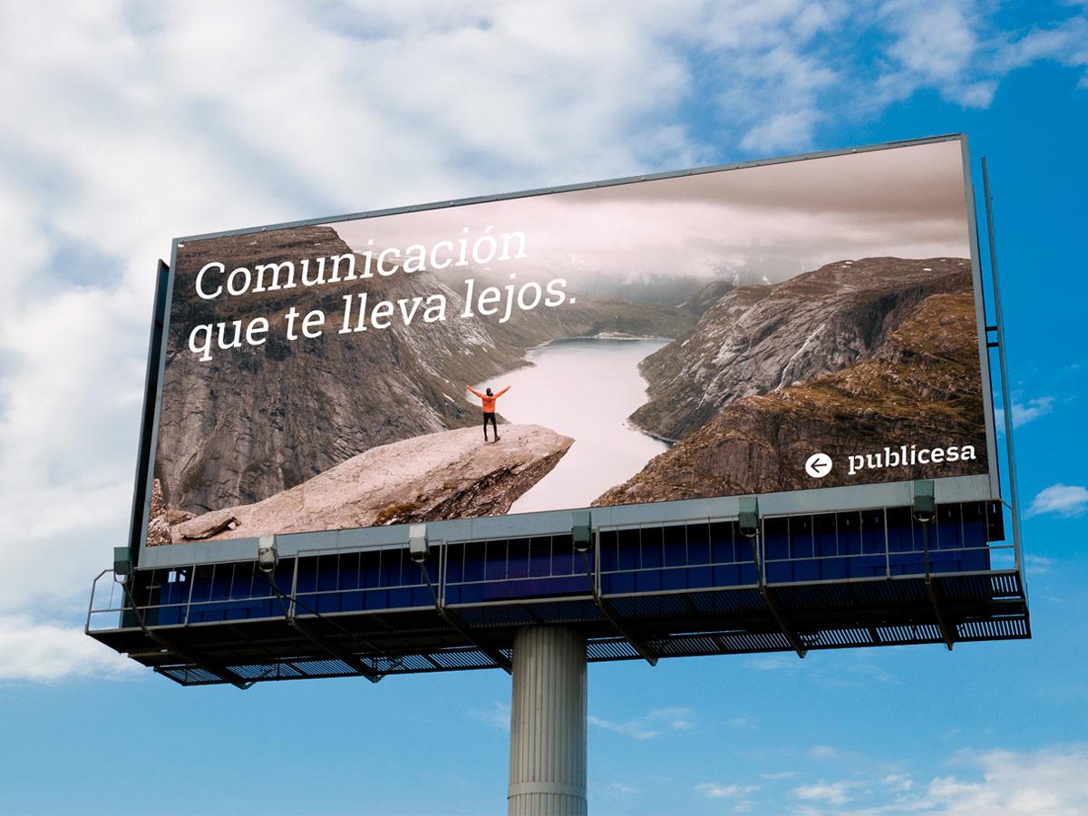 publicidad monopostes