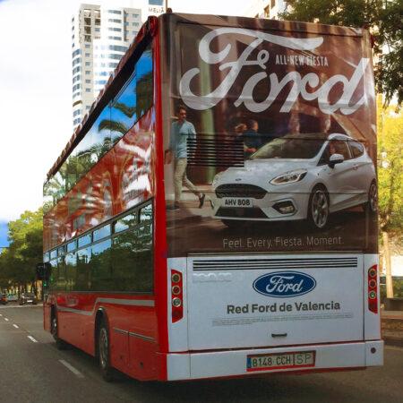 publicidad autobús turístico