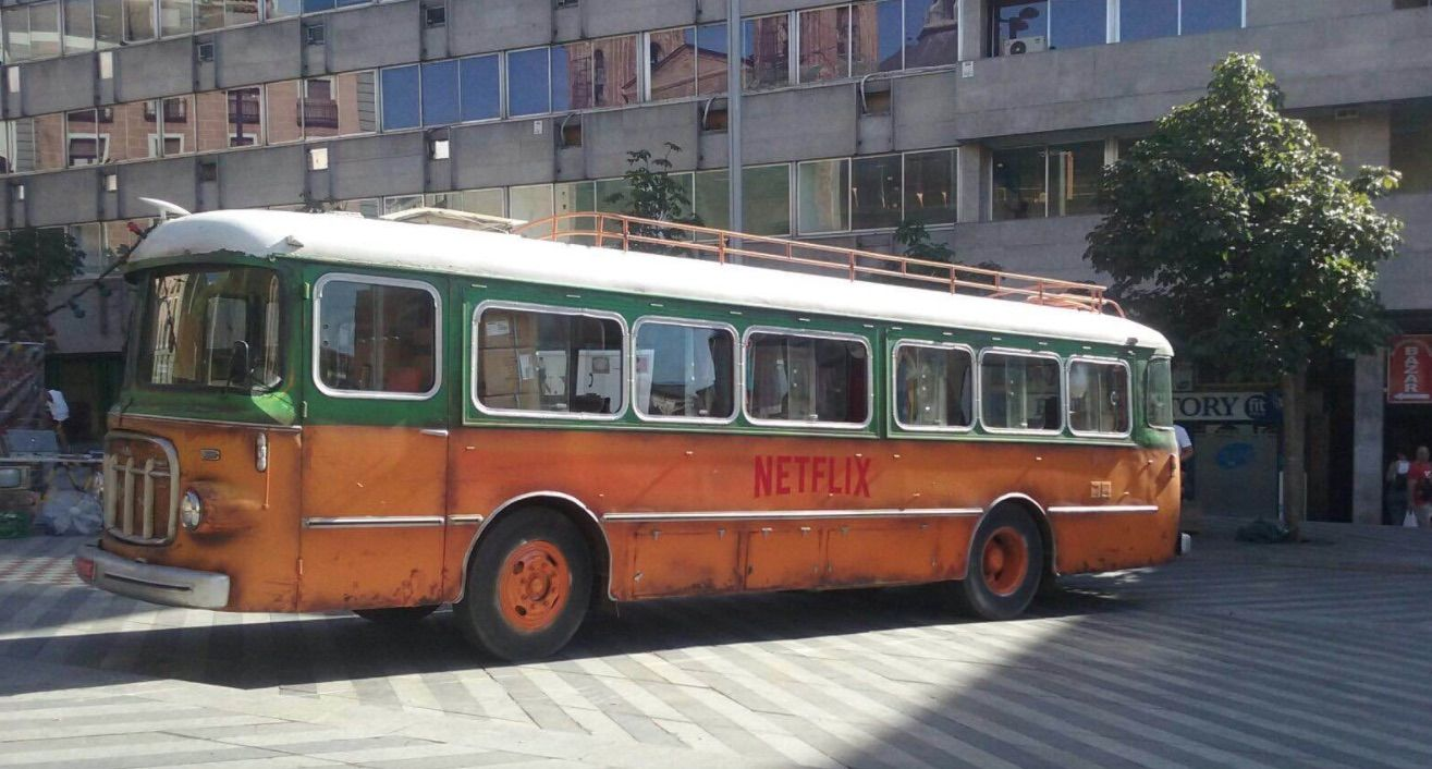 El bus como elemento de refuerzo en street marketing