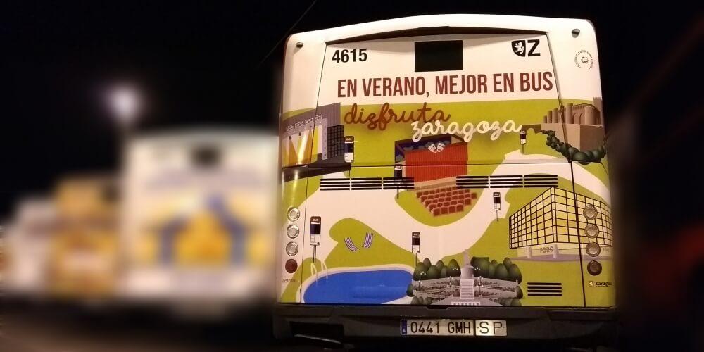 ¡Sube al bus en verano!