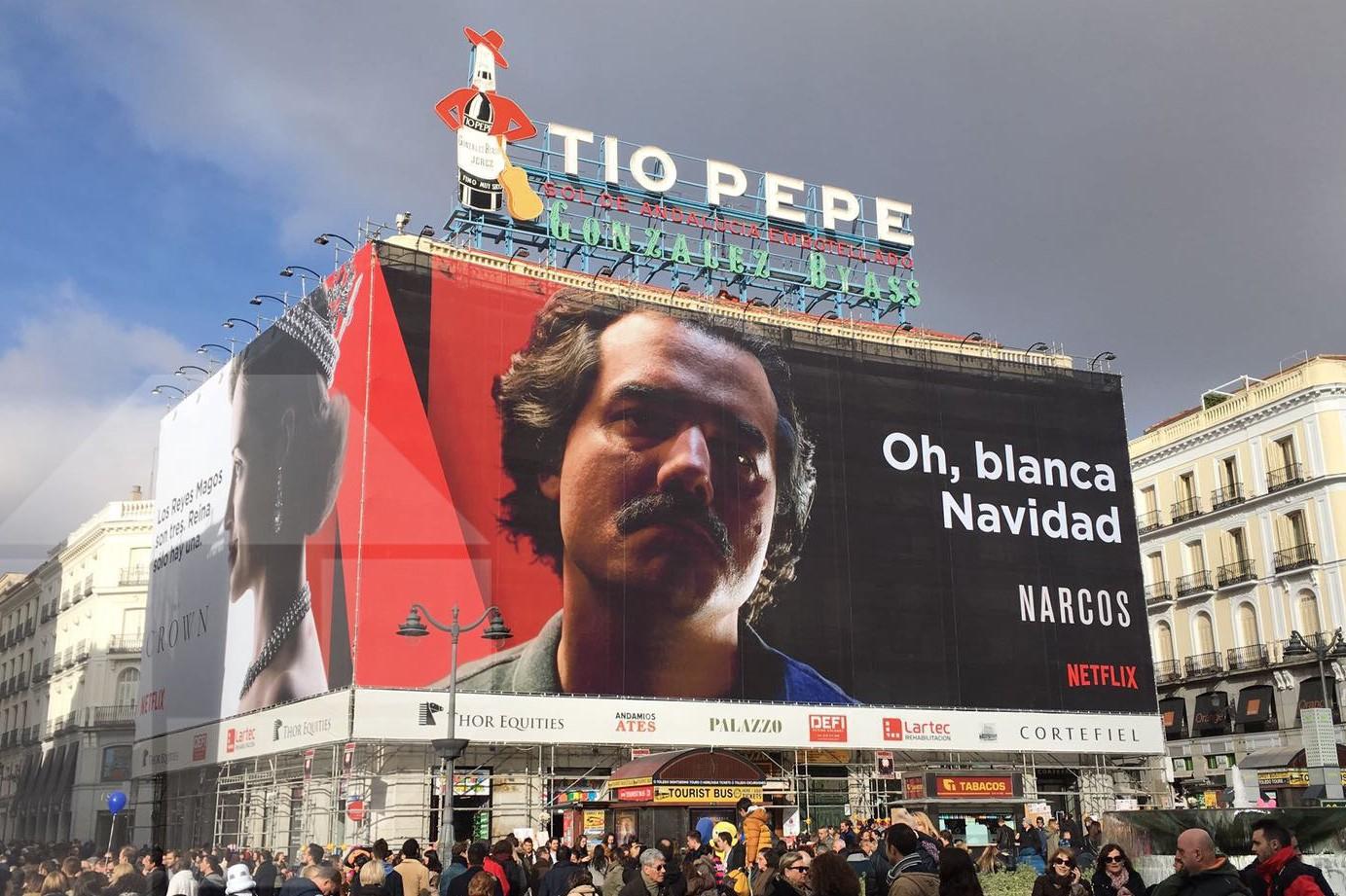 La apuesta de Netflix por la publicidad exterior